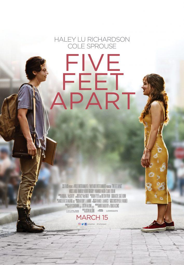 Five Feet Apart advance screening giveaway