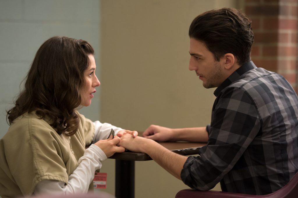 John Magaro Interview Orange is the New Black Netflix