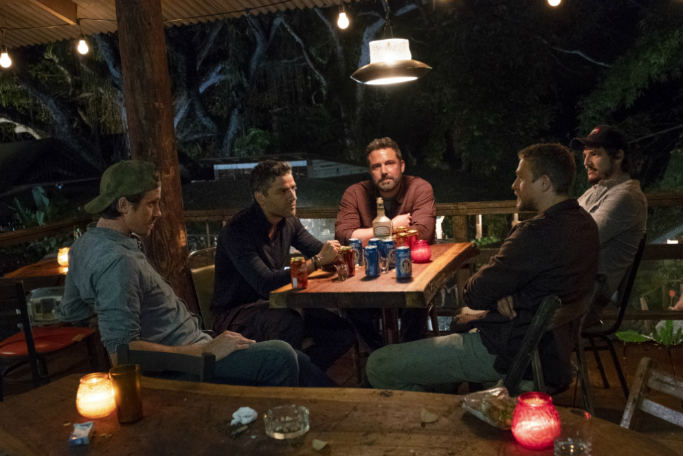 Triple Frontier giveaway