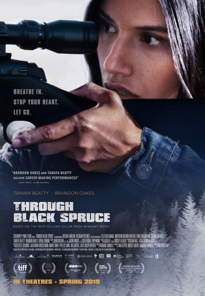 Through Black Spruce ticket giveaway Canada