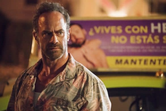 Chris Meloni Happy season 2 interview