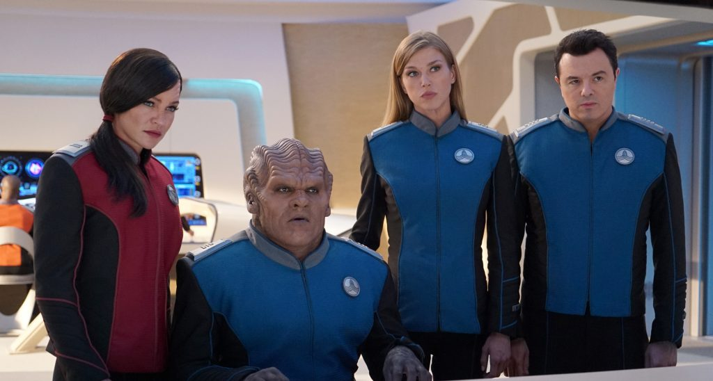 The Orville Jessica Szohr brand new interview