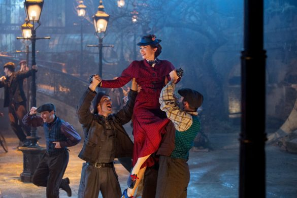 Blu-ray contest Mary Poppins Returns Disney