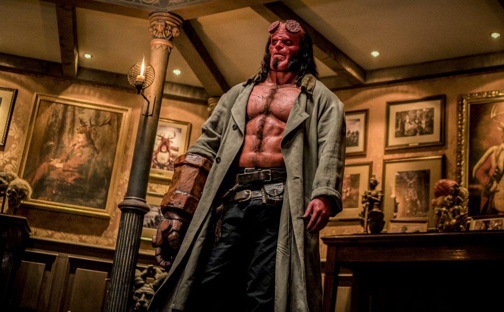 Hellboy junket Toronto David Harbour