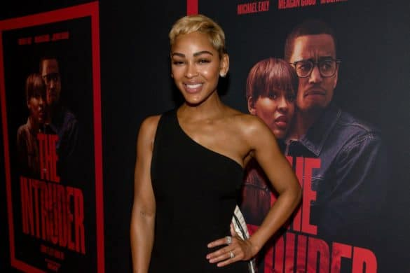 Meagan Good talks The Intruder Shazam