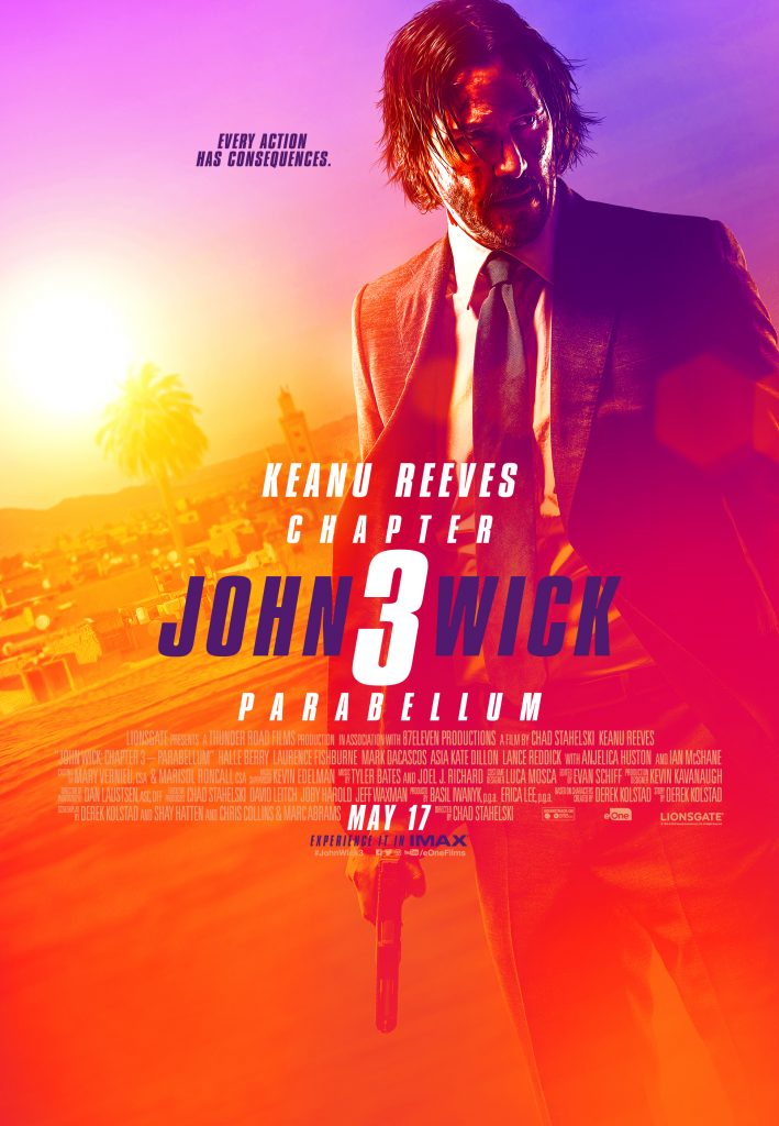 John Wick 3 prize pack giveaway