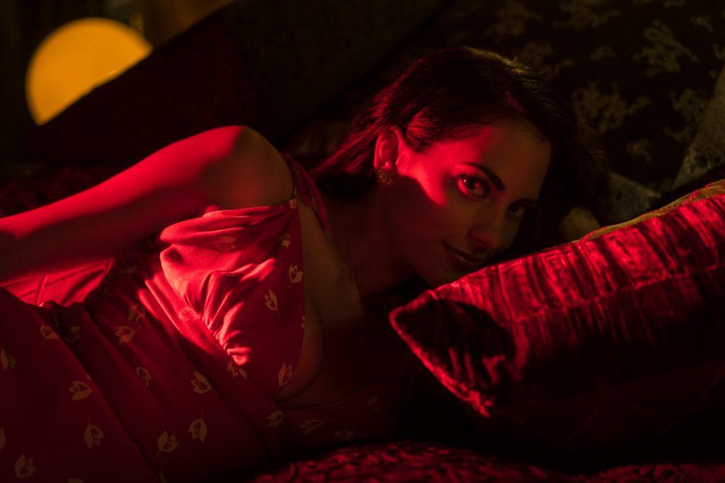 bts shots Inbar Lavi Lucifer season 4 Netflix